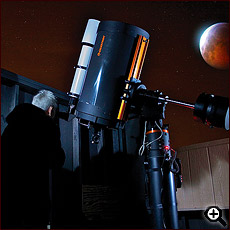 Stargazing and Astrophotography at Spencer's Observatory located at Cat Mountain Lodge