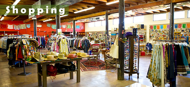 Nearby shopping at Buffalo Trading Post New & Recycled Goods